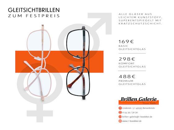 Gleitsichtbrillen für Frauen und Männer